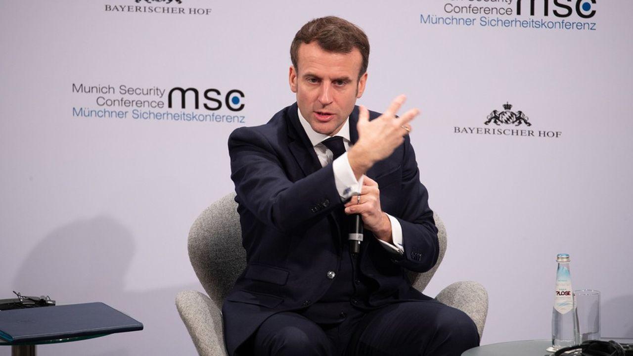 Le président français a exhorté à «aller beaucoup plus vite sur les éléments de souveraineté au niveau européen».