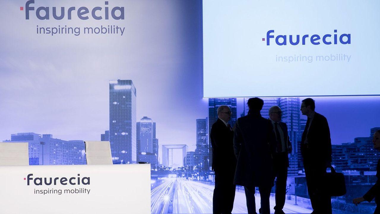 Faurecia a publié des ventes en baisse de 3% l'an dernier, à taux de change et périmètre constant, dans un marché automobile en baisse de 5,8%.