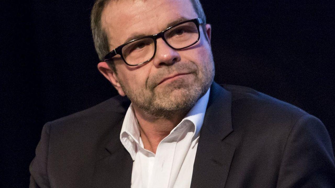 Thierry Thuillier, le patron de l'information chez TF1, aussi à la tête de la chaîne de télévision LCI.