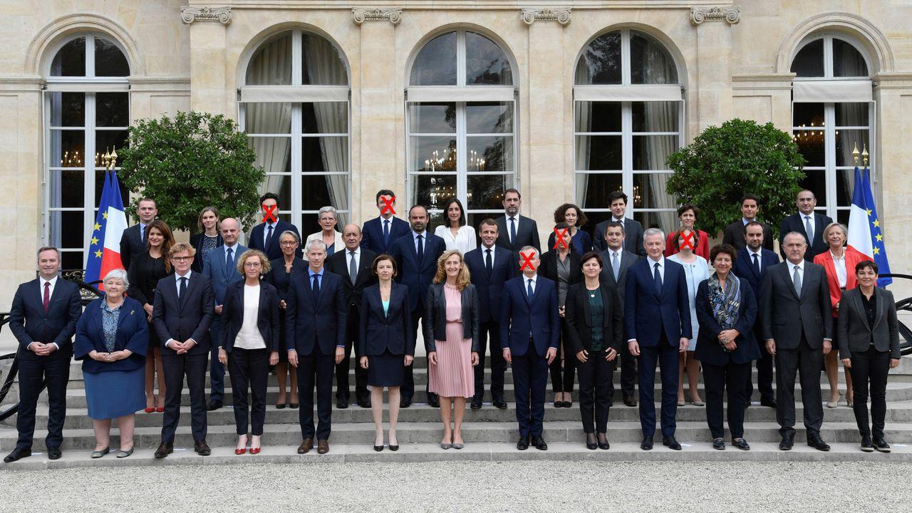 Le gouvernement Philippe en photos