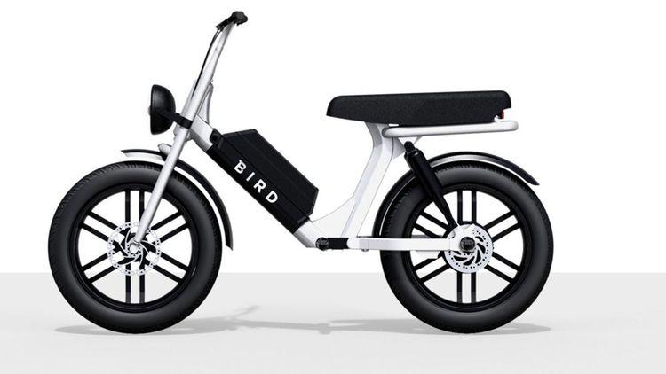 Le «Cruiser» de Bird est un véhicule hybride entre le scooter et le vélo.