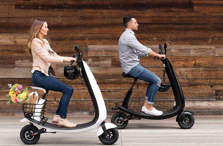 Ojo a mis au point un scooter électrique avec des roues miniatures.