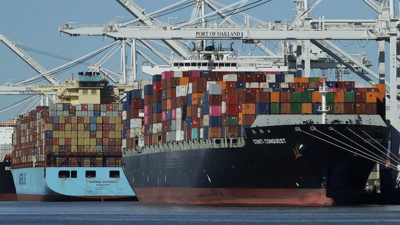 La croissance du commerce international reste en berne