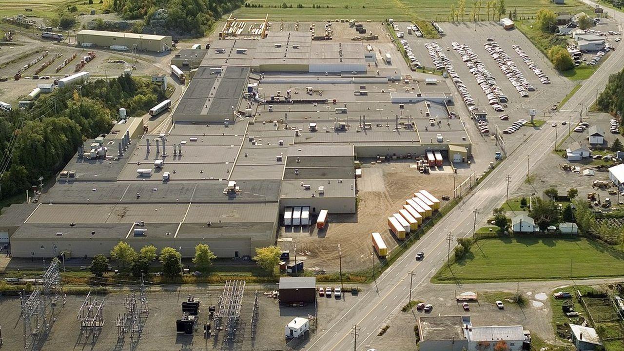 L'usine québécoise de Bombardier de La Pocatière est son site ferroviaire historique, mais l'essentiel de son outil industriel est implanté en Europe.