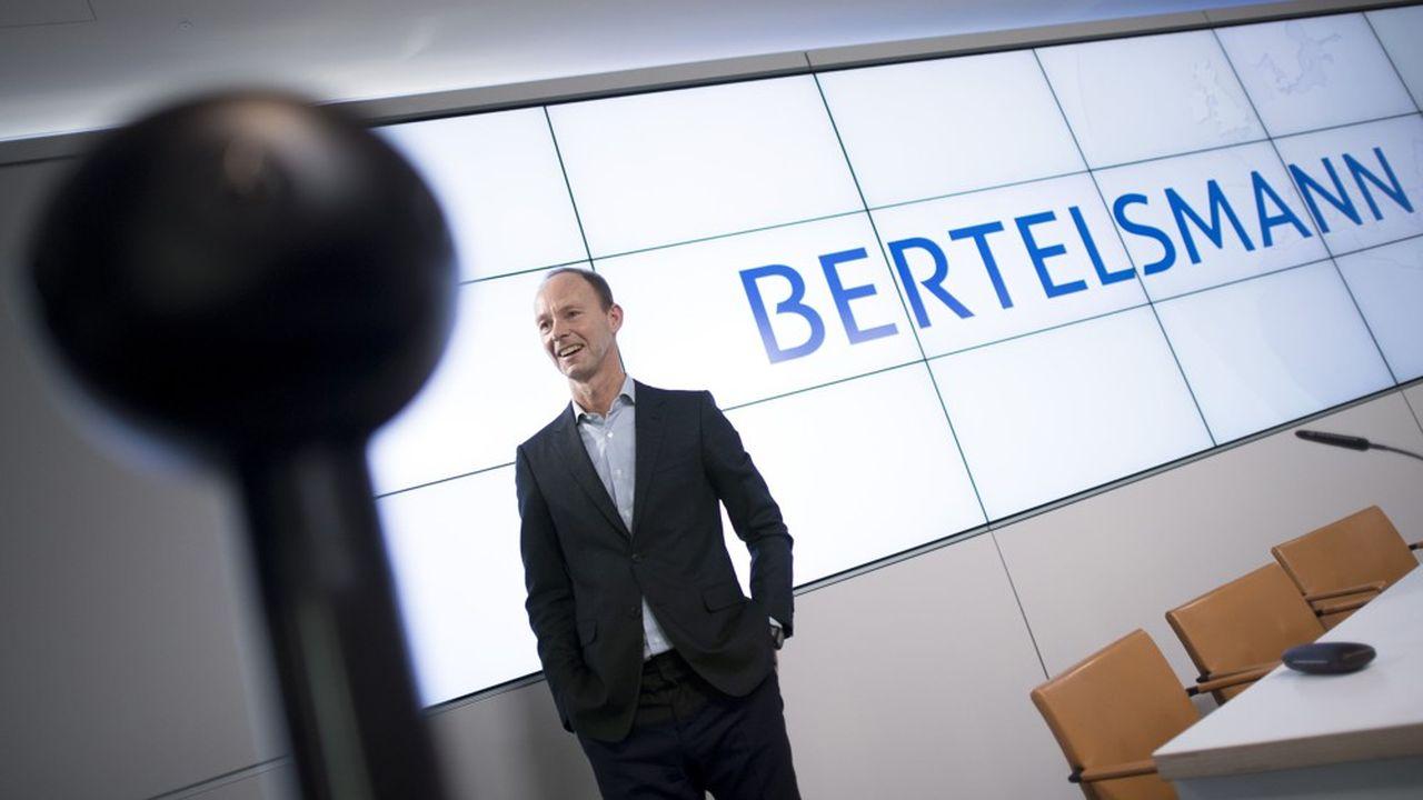 Thomas Rabe, patron de Bertelsmann.