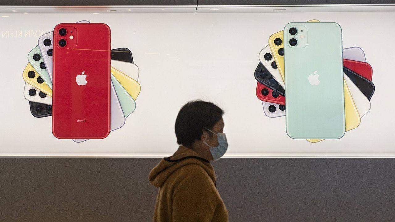 L'épidémie de coronavirus en Chine paralyse les sites partenaires de fabrication d'iPhone.