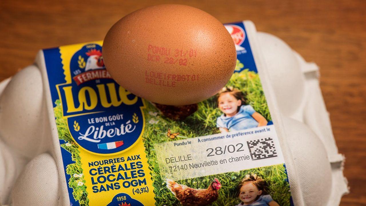 Sodexo élargit son partenariat avec les Fermiers de Loué, aux oeufs labellisés.