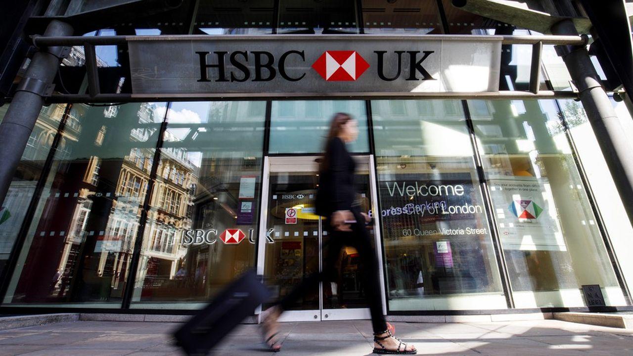 HSBC va supprimer 35'000 emplois dans le monde