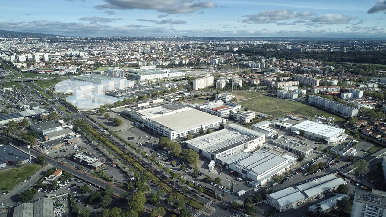 En 2028, si le projet Usin Lyon Parilly réussit, ce site aujourd'hui déserté accueillera 1.200employés d'entreprises industrielles.