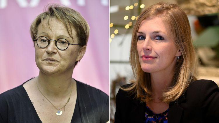 Nathalie Appéré et Carole Gandon.