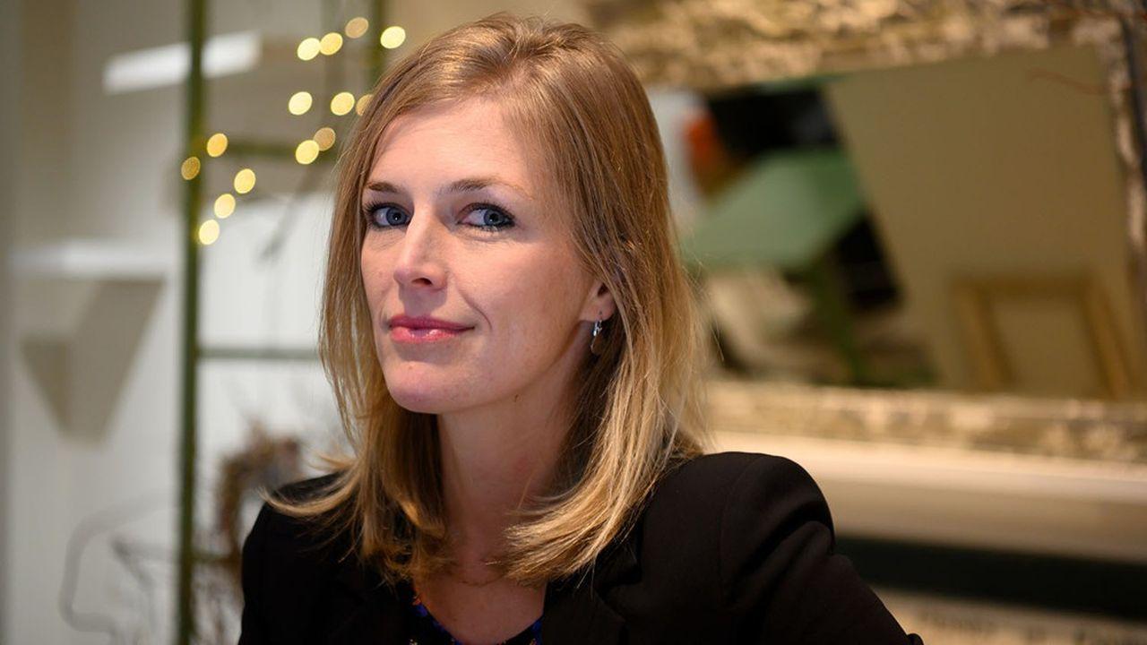 La candidate de La Republique En Marche à Rennes, Carole Gandon.