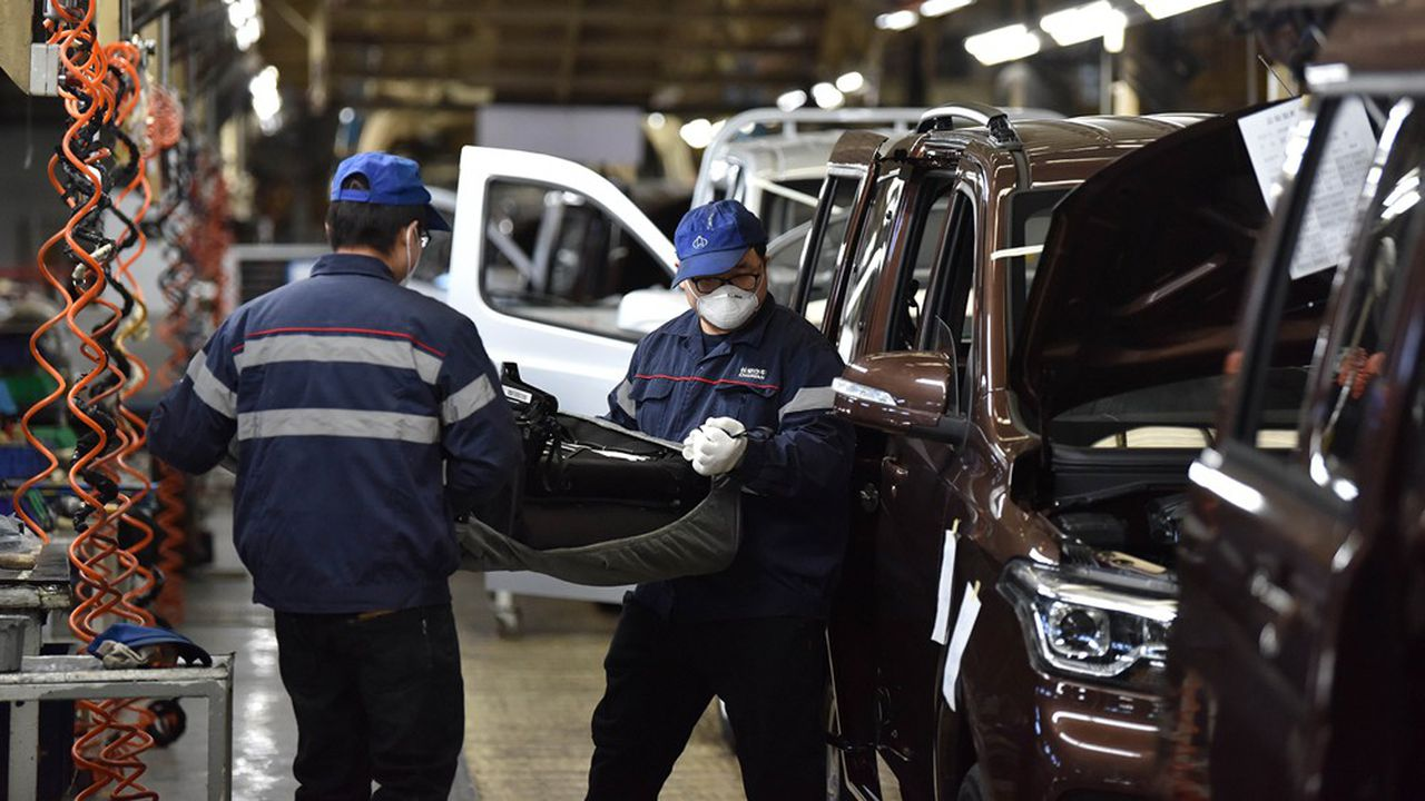 La production automobile sous la menace du coronavirus