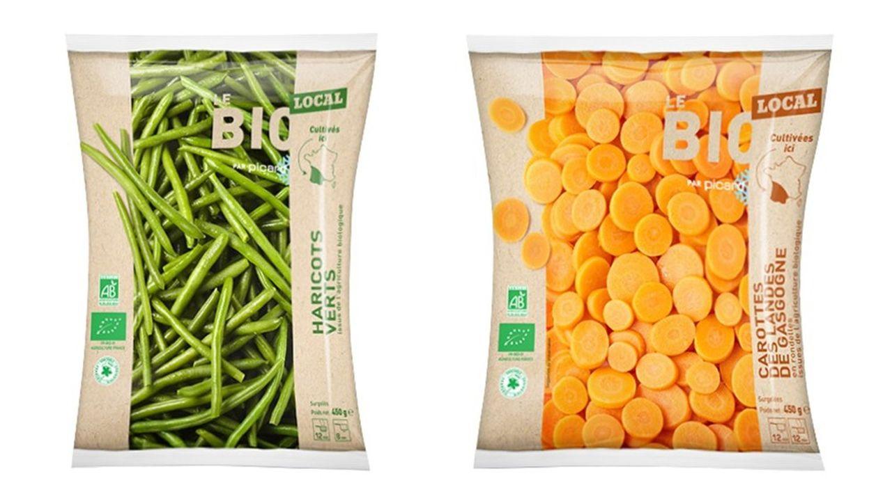 Les clients de 87 magasins Picard du sud-ouest trouveront au rayon fruits et légumes, haricots verts, carottes, courgettes et maïs non seulement bio mais aussi locaux et équitables.