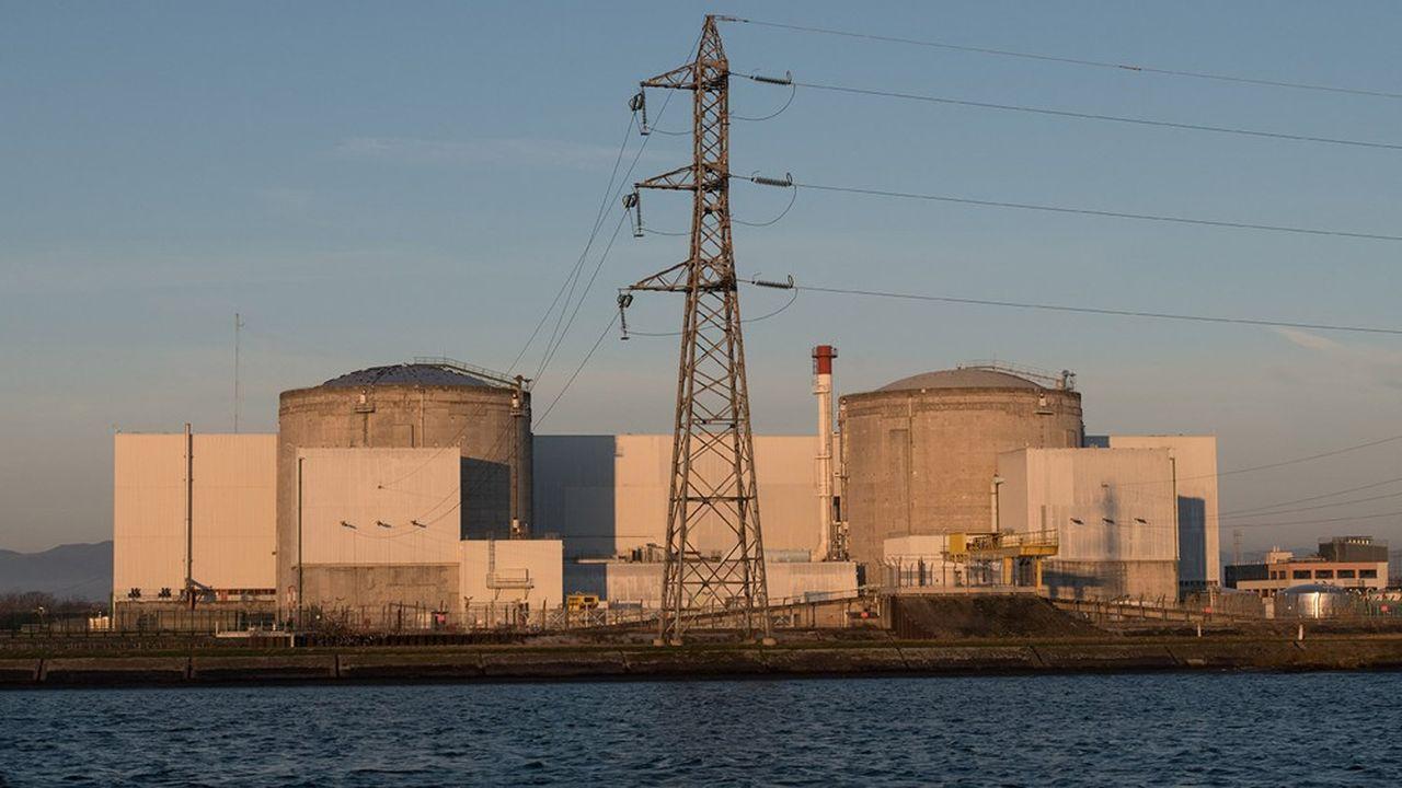 En France, les centrales nucléaires assurent 70% de la production d'énergie.
