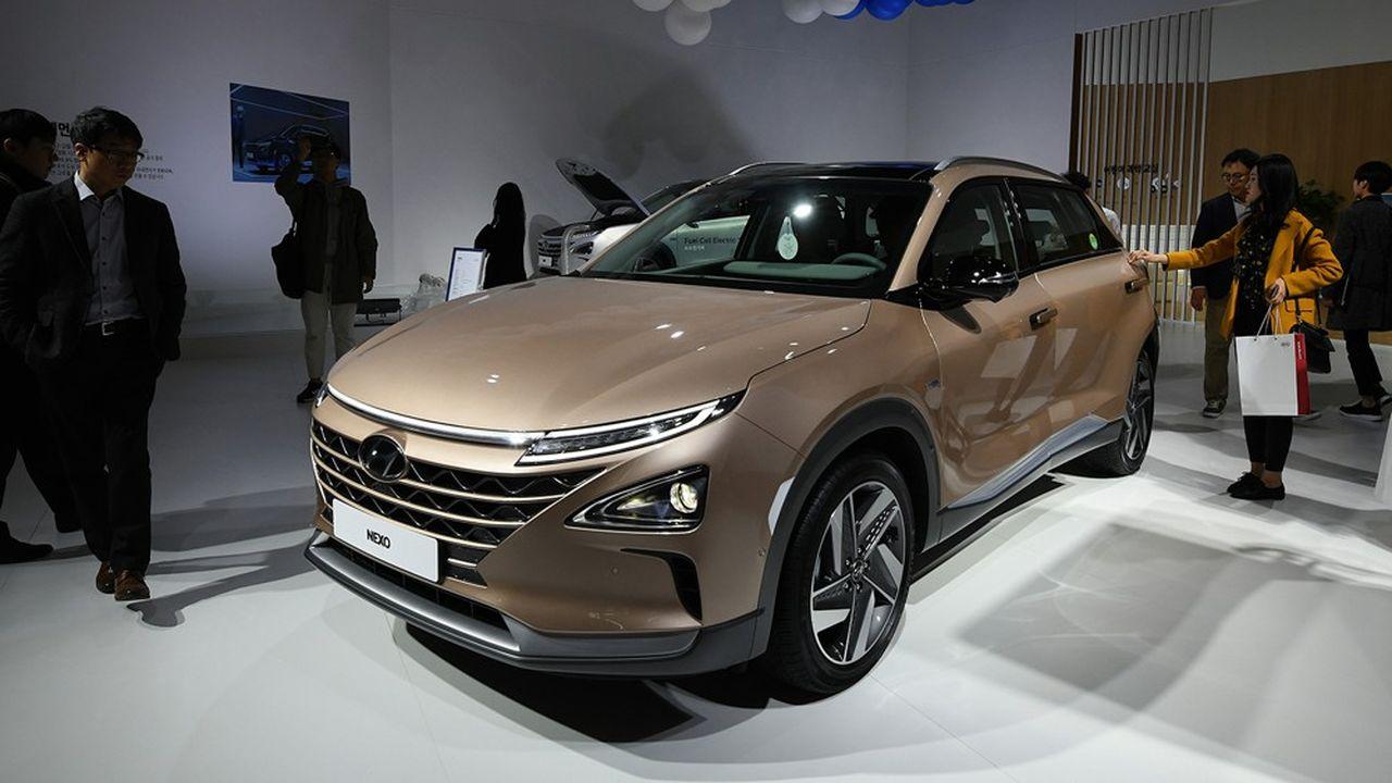 Les incitations du gouvernement coréen à l'achat d'une voiture à hydrogène ont permis de diviser par deux le prix de vente de la Hyundai Nexo, par rapport au prix catalogue.