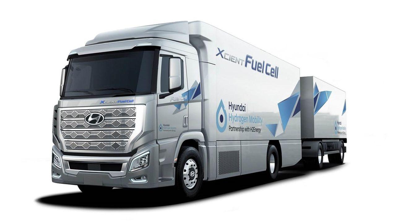 Les kits de stockage d'hydrogène de Faurecia équiperont 1.600 camions Hyundai entre2021 et2025.