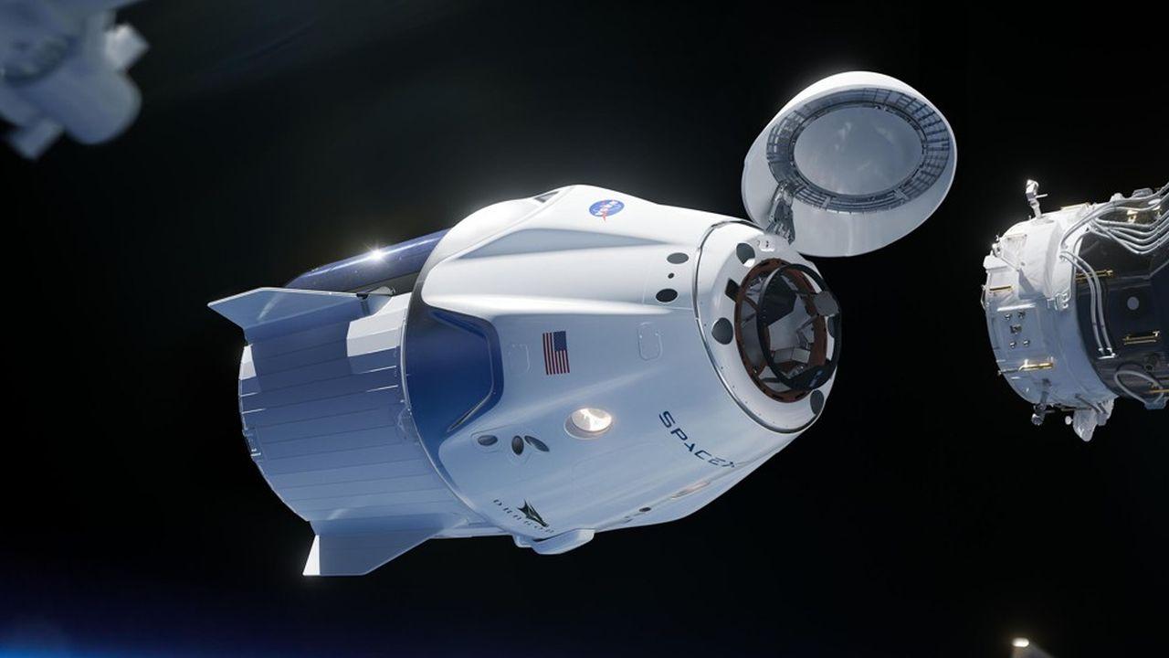 SpaceX lancera ses touristes de Cap Canaveral en Floride, à bord de sa capsule Crew Dragon.