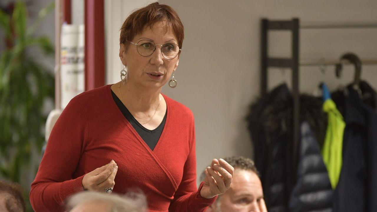 Anne Vignot, adjointe à l'environnement Europe écologie-Les Verts de l'équipe sortante à Besançon, était créditée en janvier de 34 % des intentions de vote.