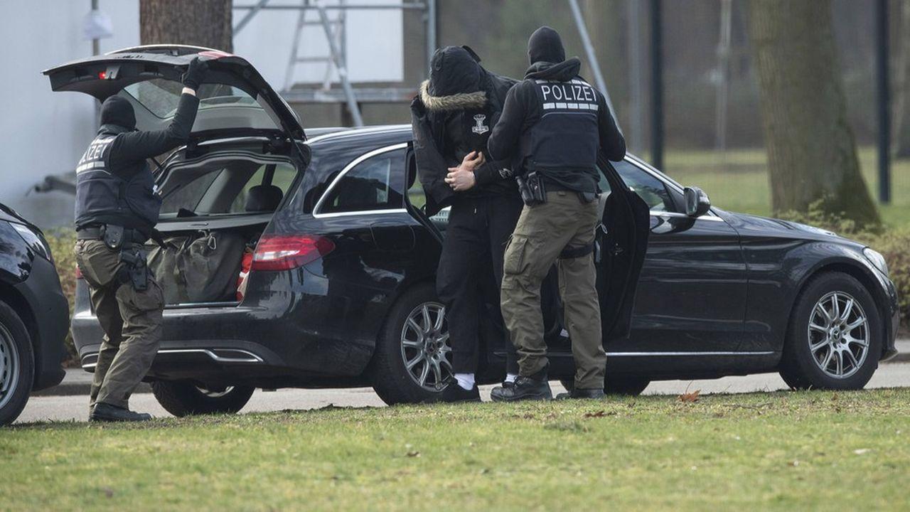 L'Allemagne a procédé à une douzaine d'arrestations le 15février contre des réseaux terroristes d'extrême droite