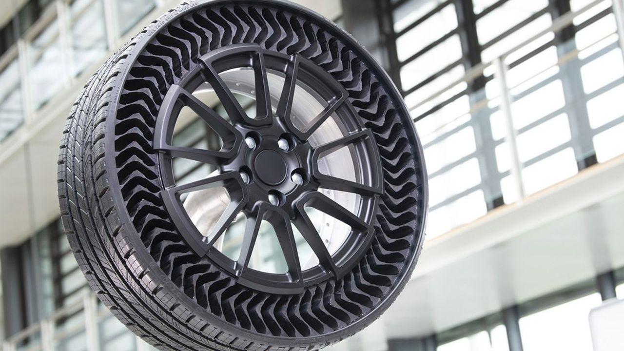 Le prototype du pneu qui intégrera un substitut au butadiène d'origine végétale.