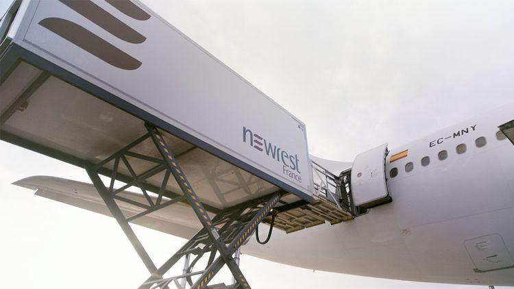 Newrest sert plus de 2.500 vols par jour.