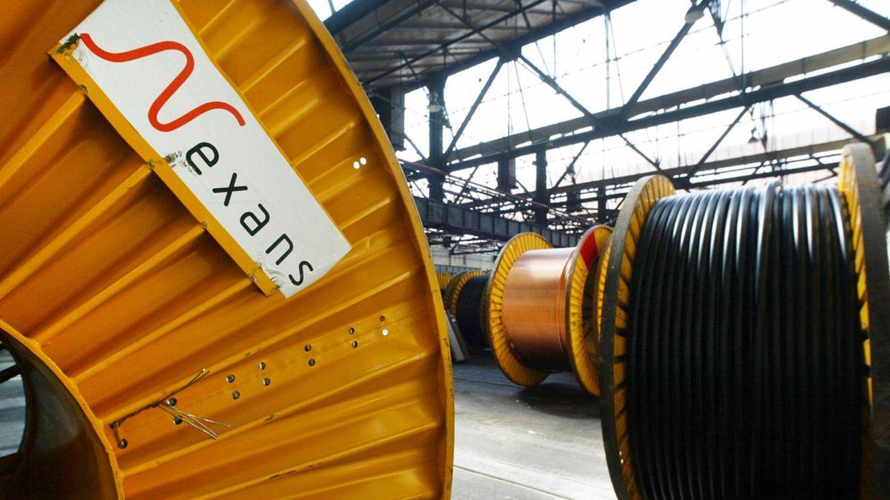 Le géant français fabrique des câbles utilisés dans les bâtiments, l'industrie ou encore les télécommunications.