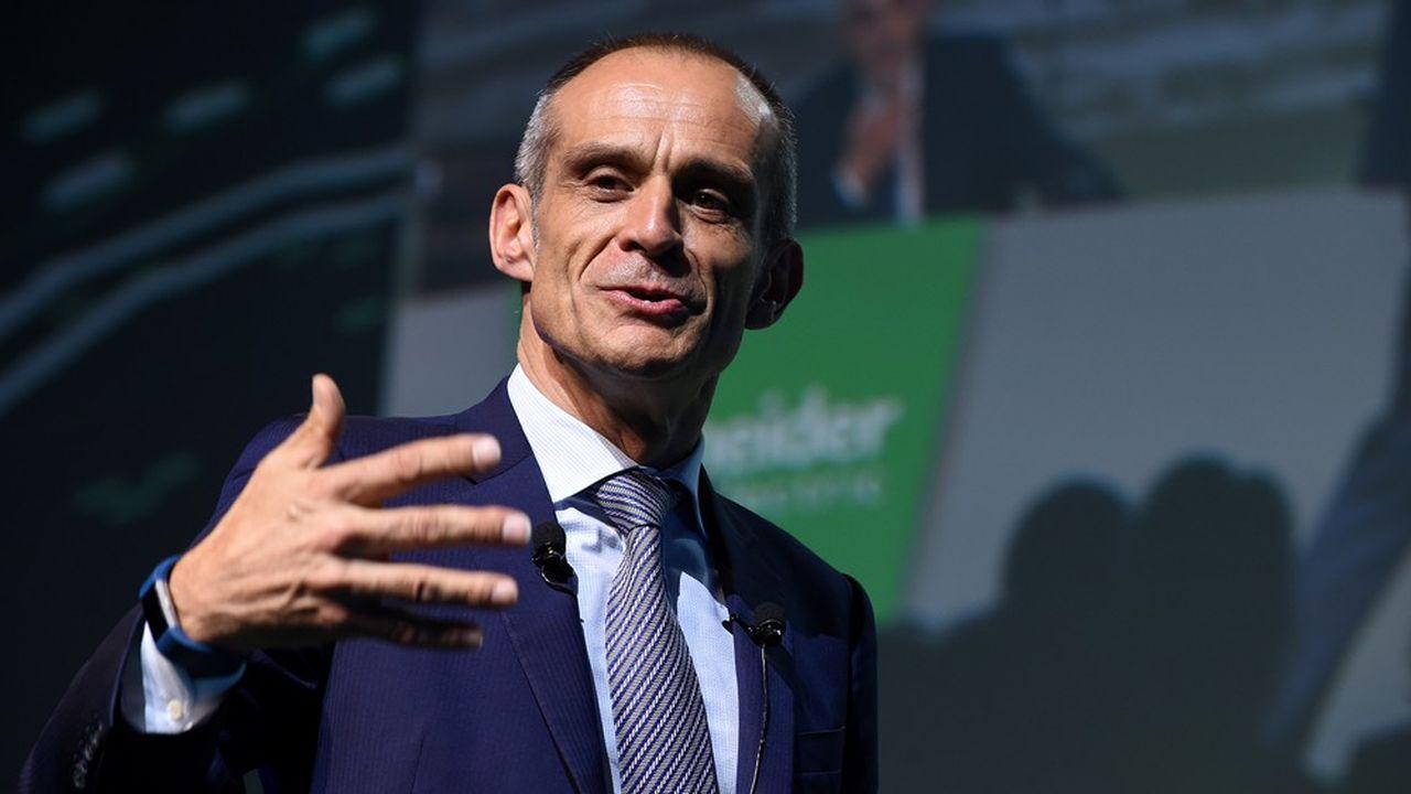 Jean-Pascal Tricoire, directeur général de Schneider Electric depuis 2006, souligne «l'aboutissement d'années de travail».