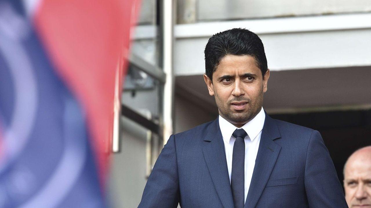 Nasser Al-Khelaifi est soupçonné d'avoir usé de moyens illégaux pour obtenir les droits TV de la Coupe du monde.