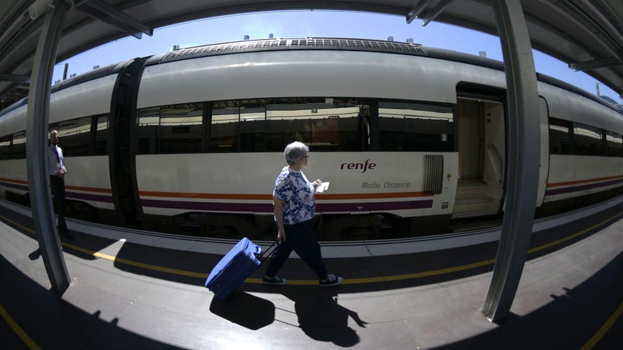 La compagnie espagnole Renfe va opérer la ligne entre Houston et Dallas.