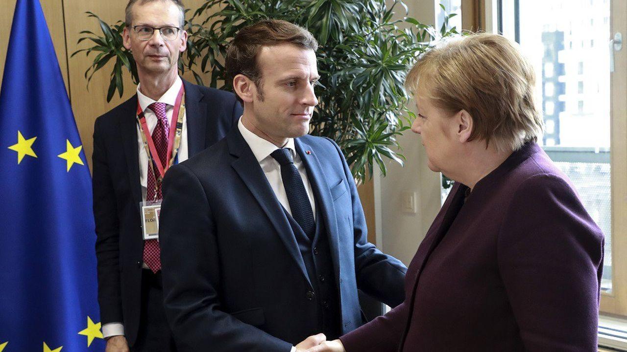 Emmanuel Macron a discuté de la crise syrienne avec Angela Merkel en marge du sommet européen de ce jeudi à Bruxelles.