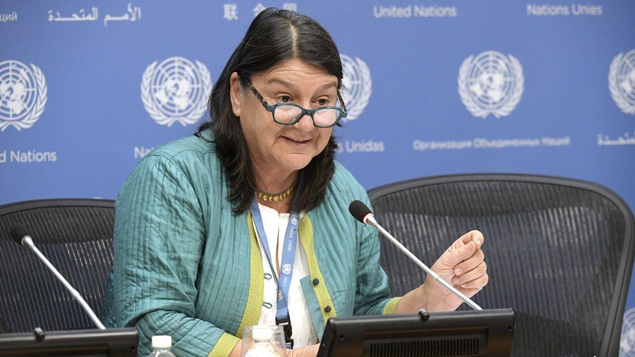 Hilal Elver, rapporteur spécial des Nations unies pour le droit à l'alimentation.