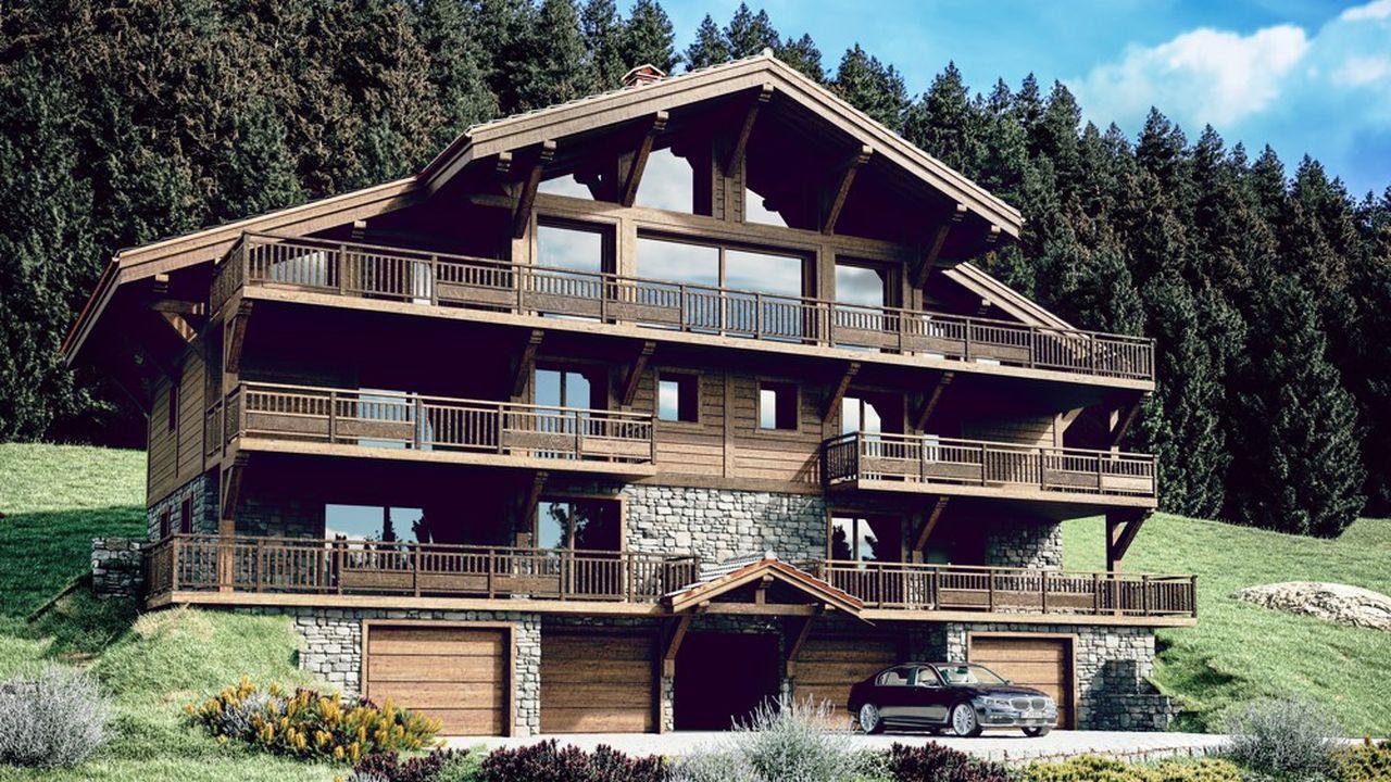 Immobilier de montagne : des chalets qui font rêver