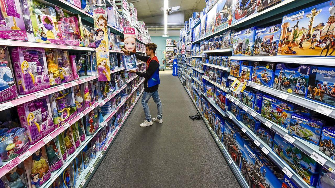 Les ventes de jouets ont été décevantes en fin d'année aux Etats-Unis.