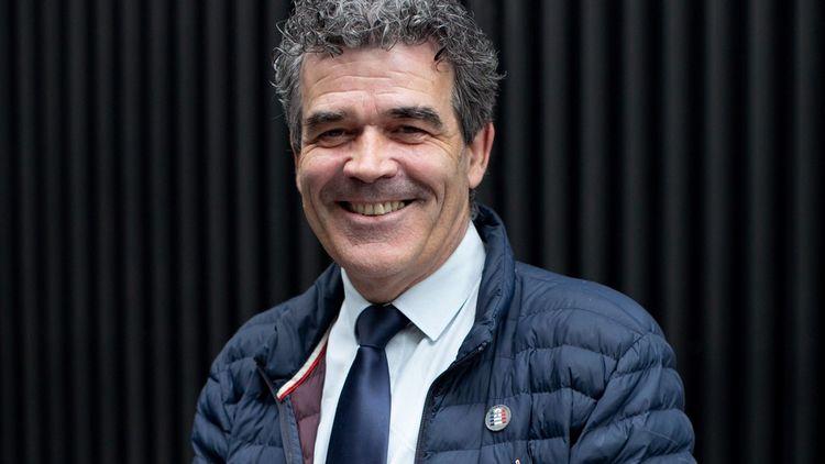 Eric Michoux, président du groupe Galilé et maire d'Epervans.