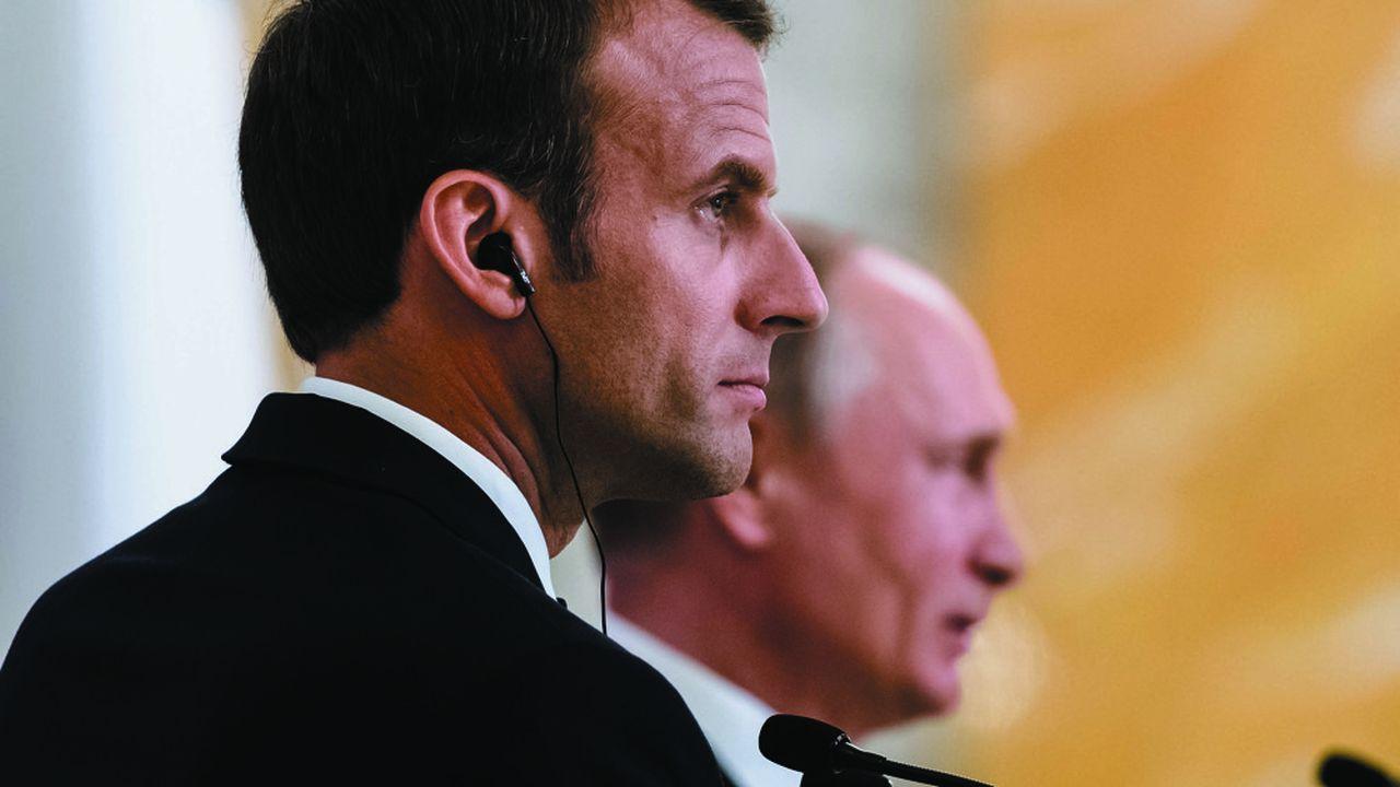 Les incohérences de la politique d'Emmanuel Macron envers la Russie