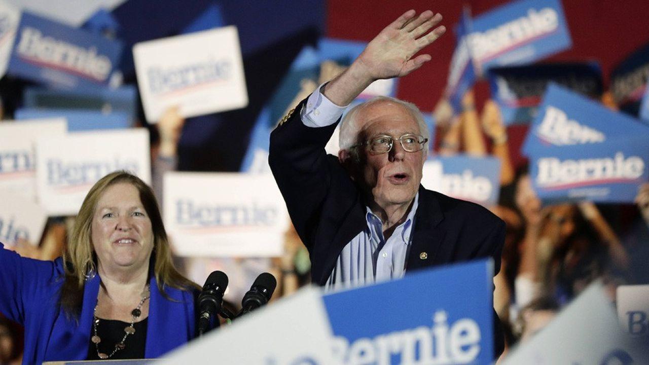 Le sénateur socialiste du Vermont dispose d'une très large avance sur ses rivaux avec 47% des délégués attribués.