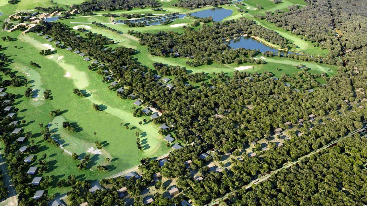 Saneo a fait appel au cabinet Wilmotte pour les villas, qui seront proposées à la vente à partir de 500.000euros.