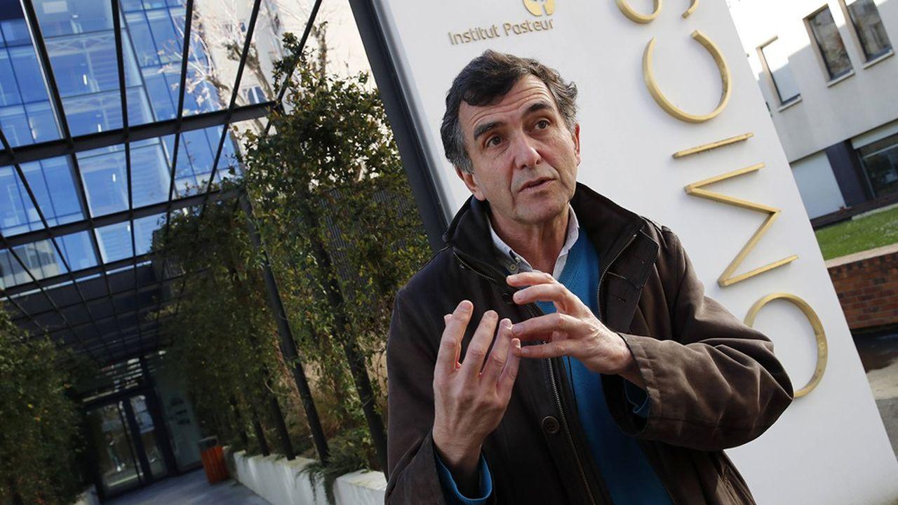 Arnaud Fontanet dirige l'unité d'épidémiologie des maladies émergentes à l'Institut Pasteur.