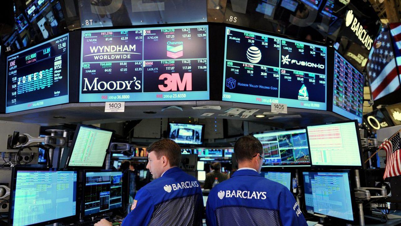 Les salariés de la banque d'investissement ont à nouveau dénoncé l'emploi d'un logiciel de surveillance de la productivité Sapience Analytics (Photo by STAN HONDA/AFP)