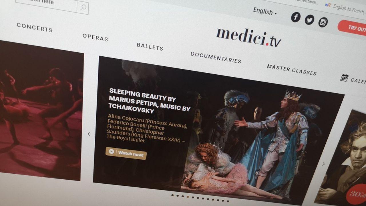 Medici.tv totalise 30millions de vidéos vues dans le monde en 2019.