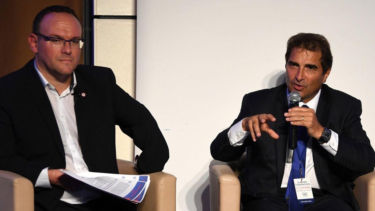 Damien Abad et Christian Jacob (ici en 2018).