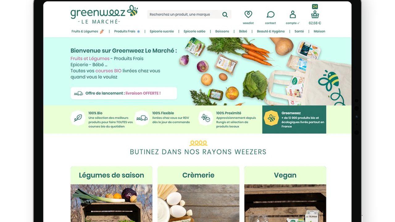 Greenweez lance Le Marché à Paris pour livrer des produits frais.
