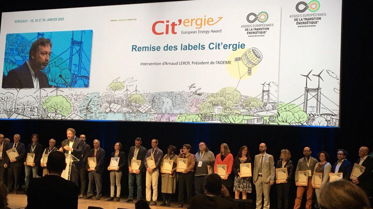 Depuis son lancement en 2008, 60 collectivités françaises ont reçu le label « CAP Cit'ergie », parmi lesquelles seulement 5 agglomérations de plus de 200.000 habitants, dont Cergy-Pontoise.