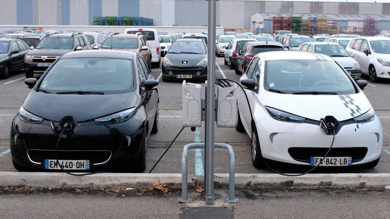 voitures Renault ZOE Parking