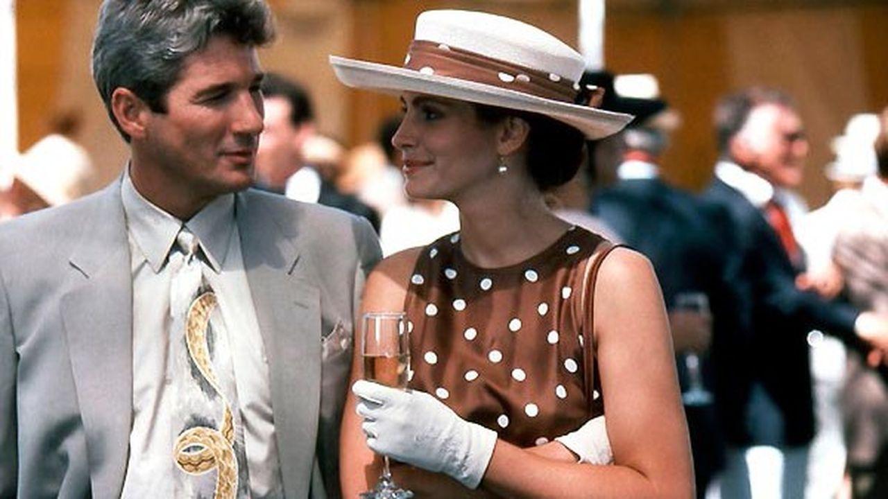Le film américain « Pretty Woman », réalisé par Garry Marshall et sorti en 1990, avec dans les rôles principaux Richard Gere et Julia Roberts.