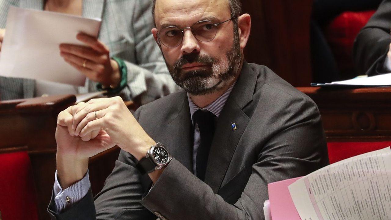 Edouard Philippe ce mardi à l'Assemblée nationale.