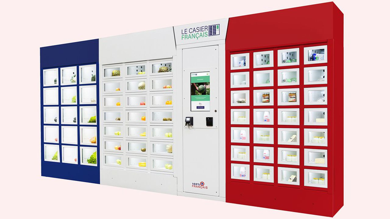 Le distributeur connecté Le Casier Français est entièrement modulable.