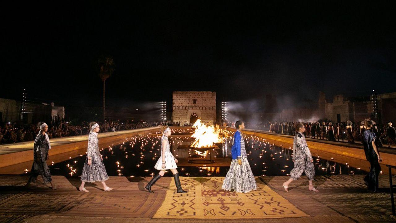 Défilé Christian Dior Couture à Marrakech en avril 2009