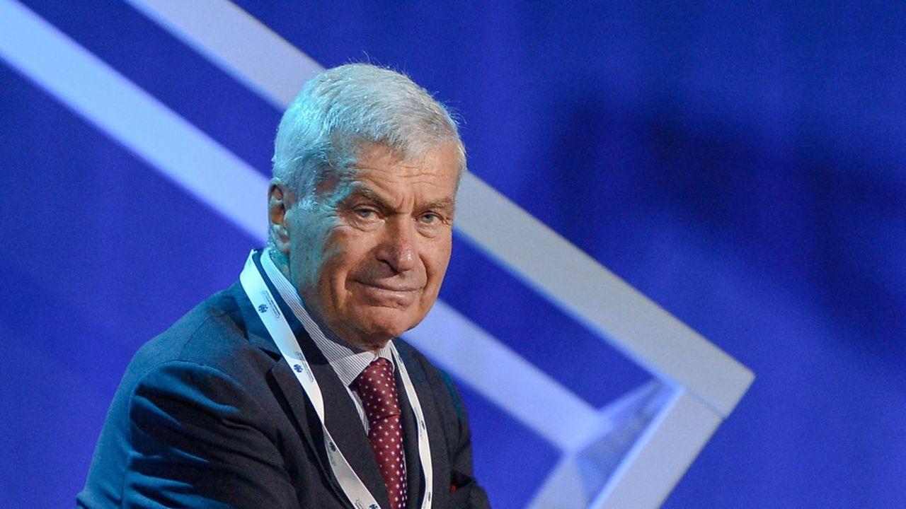 Carlo Sangalli, président de Confcommercio, l'Association italienne du Commerce de détail, de gros et international.