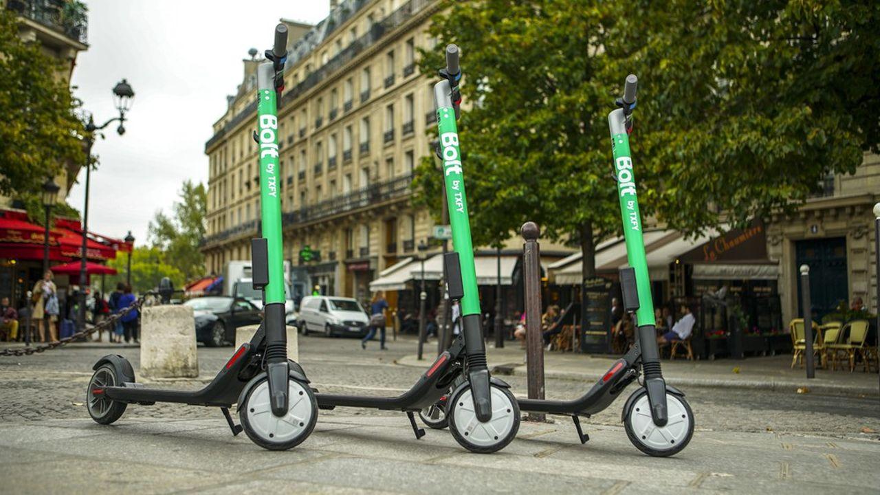 Les trottinettes de Txfy à Paris sont en service depuis le jeudi 6 septembre.